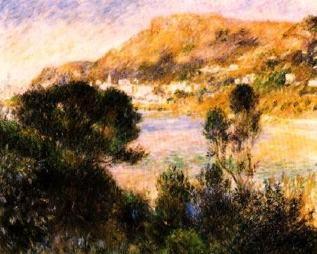 Pierre Renoir The Esterel Mountains Sweden oil painting art